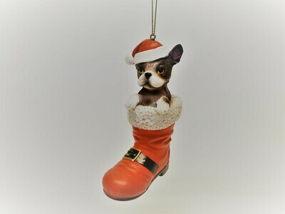French Bulldog in a Boot