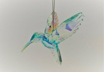 Light Blue Hummingbird