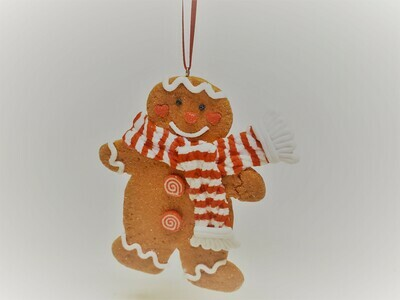 Red and White Gingerbread