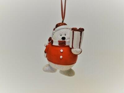 Polar Bear with Gift