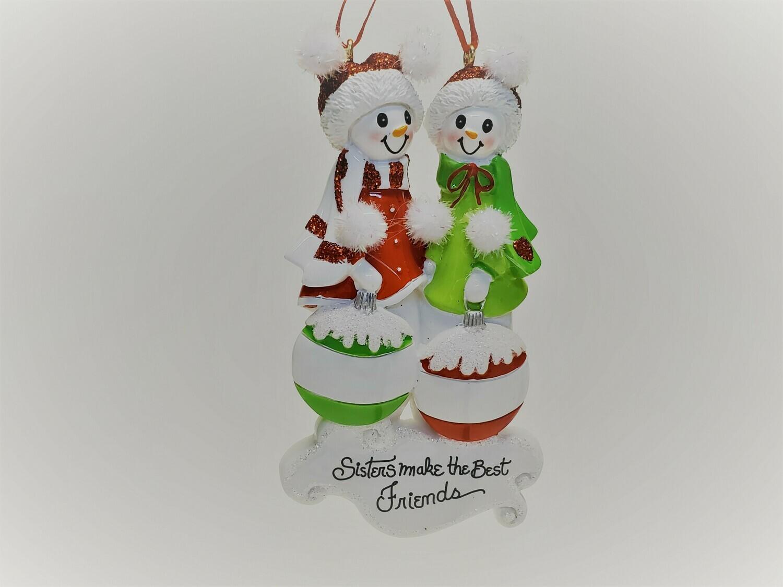 Snowmen Sisters