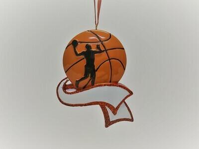 Basketball with Ribbon