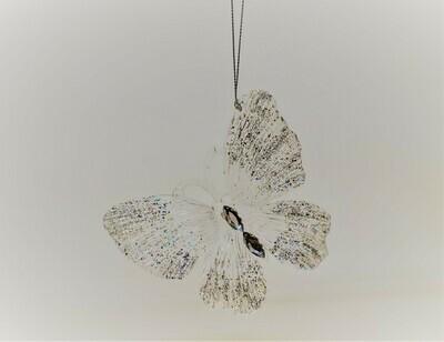 Clear Glitter Butterfly