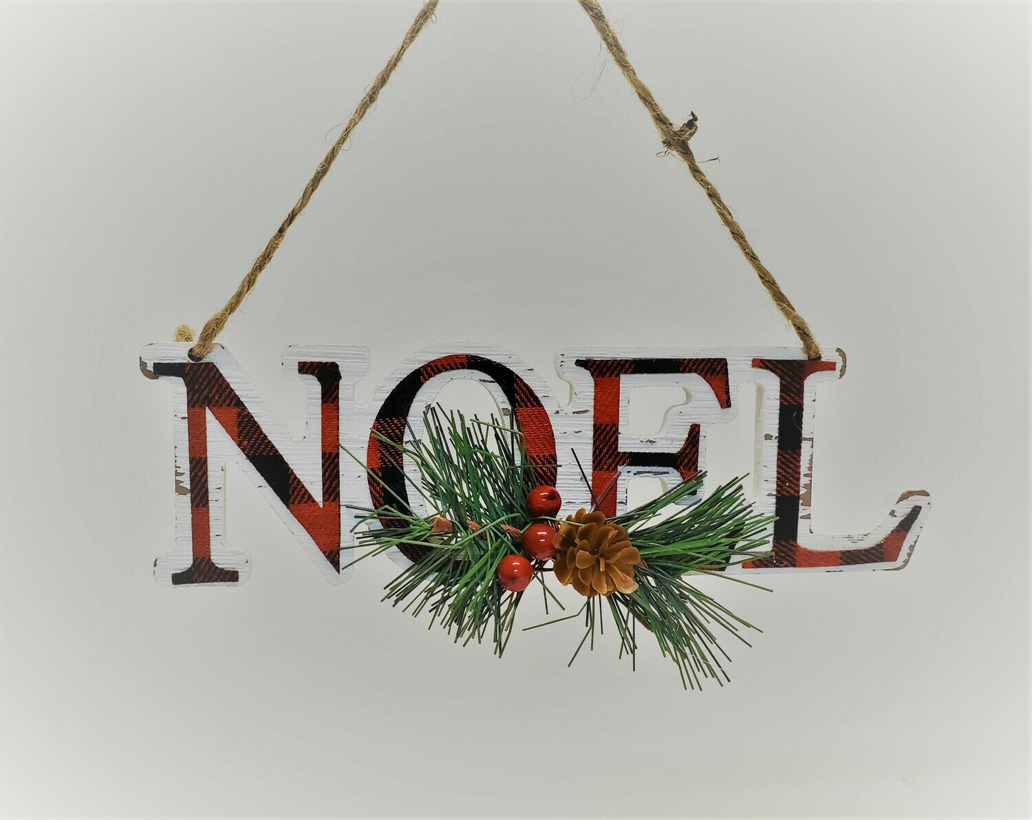Black and Red Noel