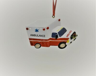Ambulance with Wreath