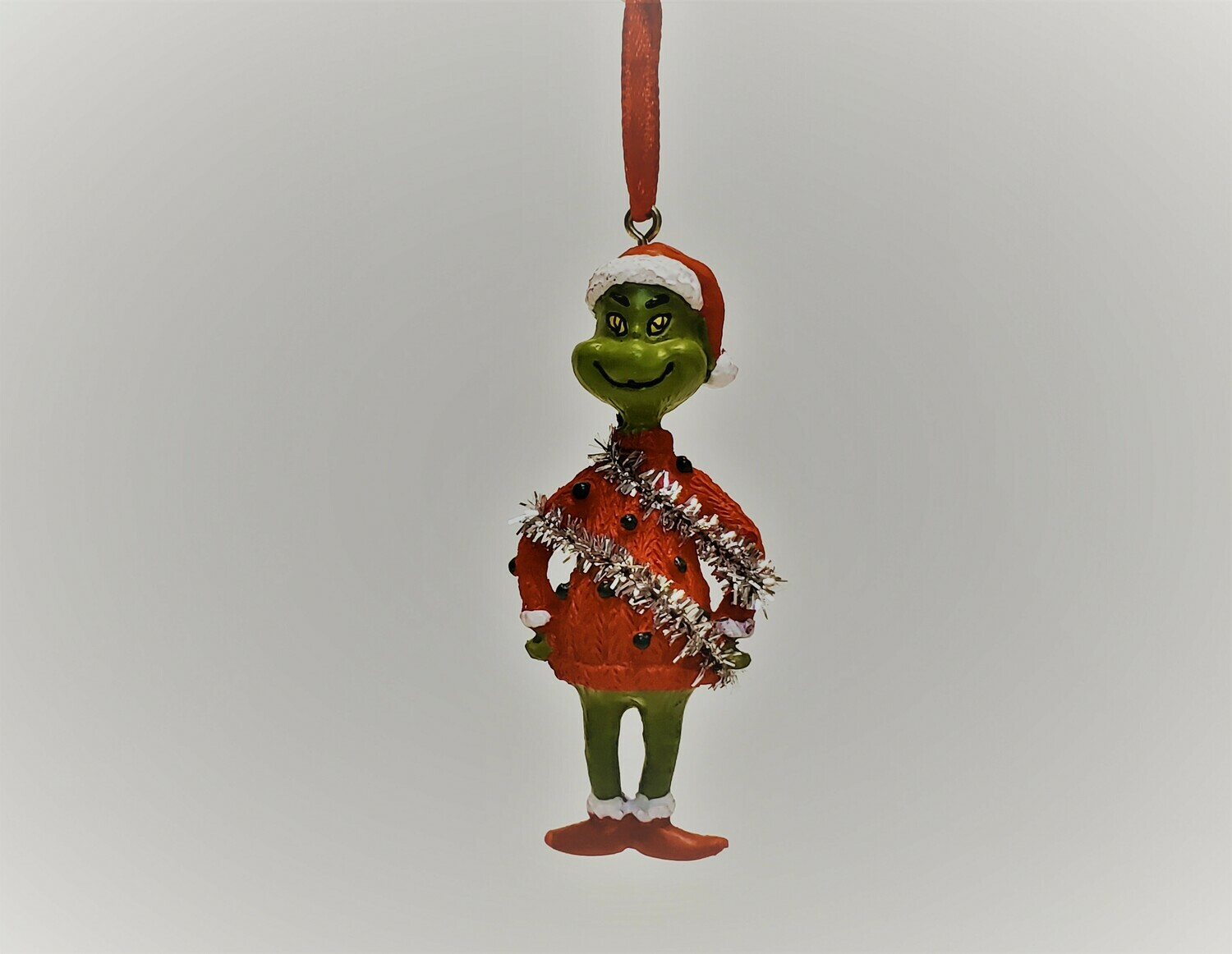 The Grinch in a Sparkly Sweater