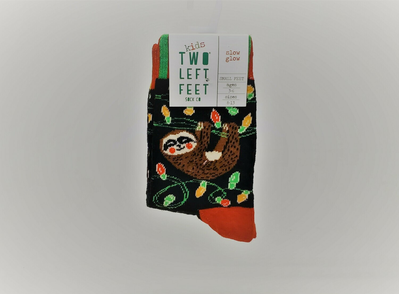 """Kids Christmas Socks """"Glow Glow"""""""