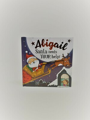 Personalized Abigail Book