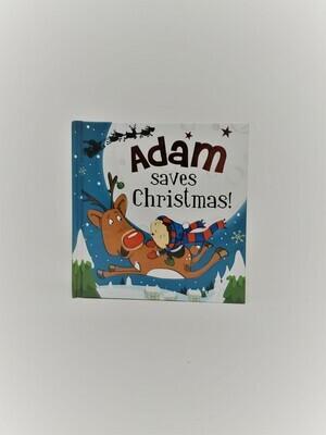 Personalized Adam Book