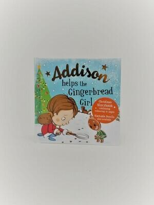 Personalized Addison Book