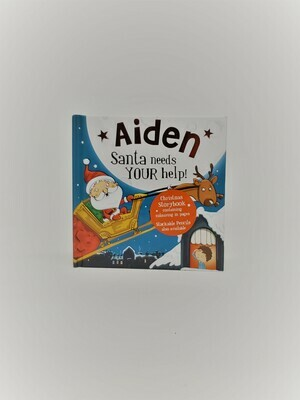 Personalized Aiden Book