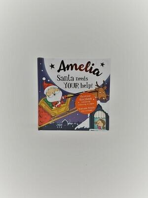 Personalized Amelia Book