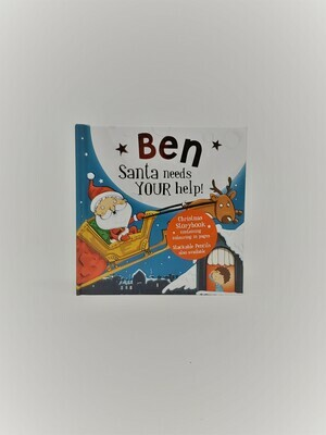 Personalized Ben Book