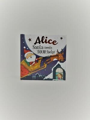 Personalized Alice Book