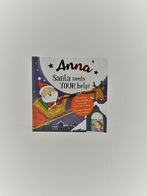 Personalized Anna Book