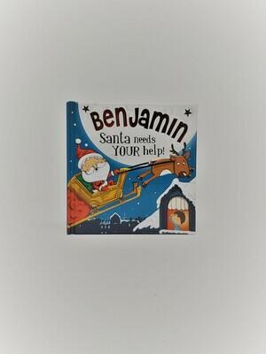 Personalized Benjamin Book