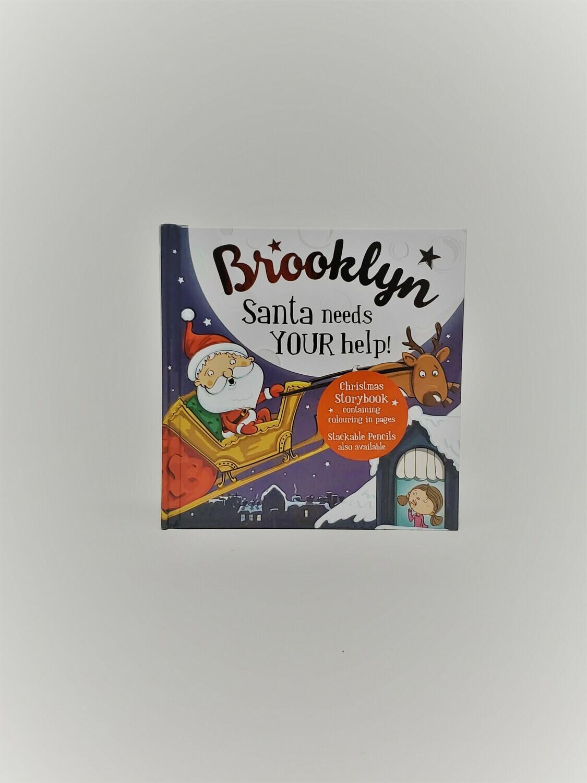 Personalized Brooklyn Book