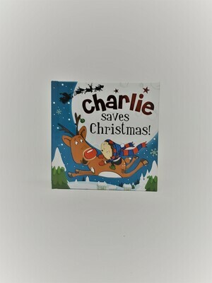 Personalized Charlie Book
