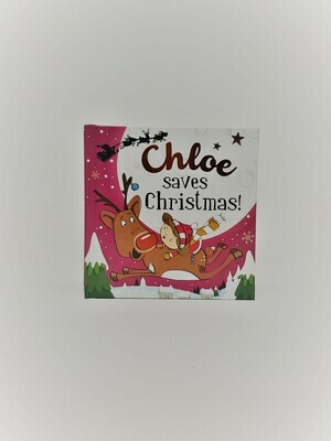 Personalized Chloe Book