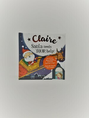 Personalized Claire Book