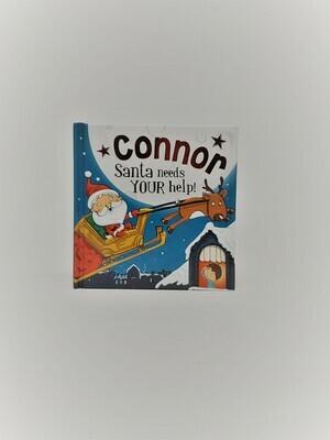 Personalized Connor Book