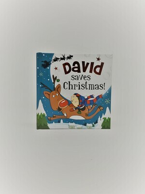 Personalized David Book