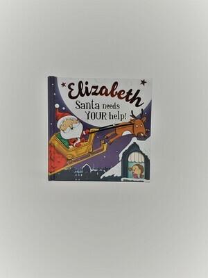 Personalized Elizabeth Book