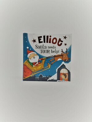 Personalized Elliot Book