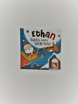 Personalized Ethan Book