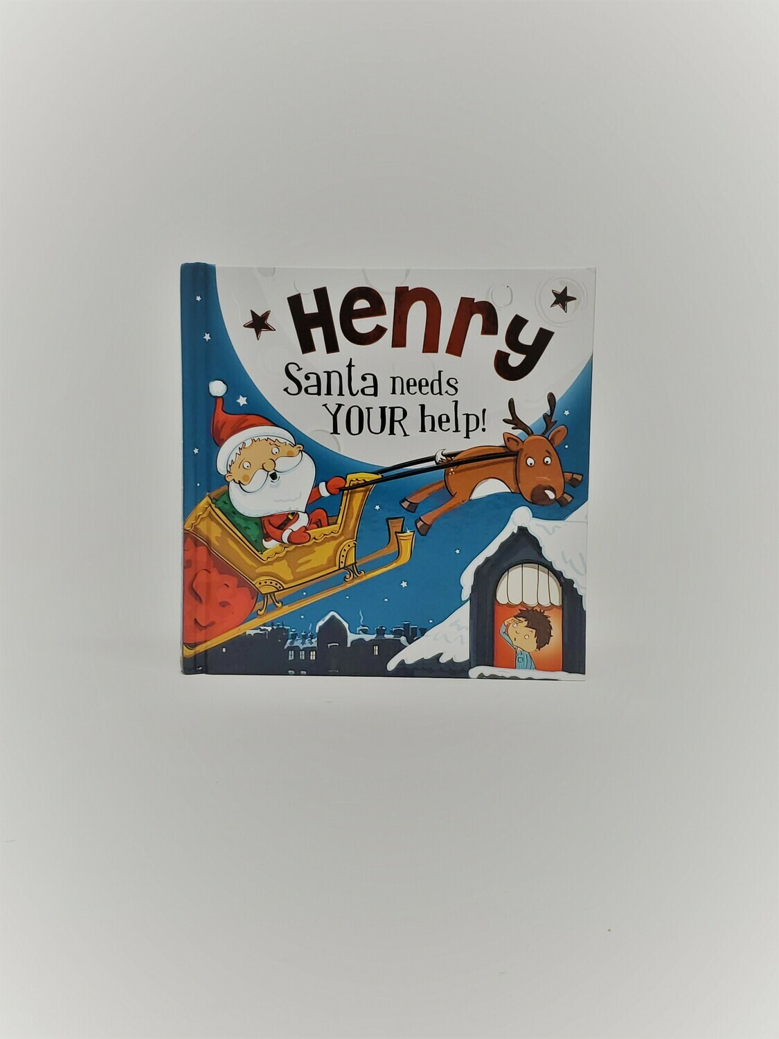 Personalized Henry Book