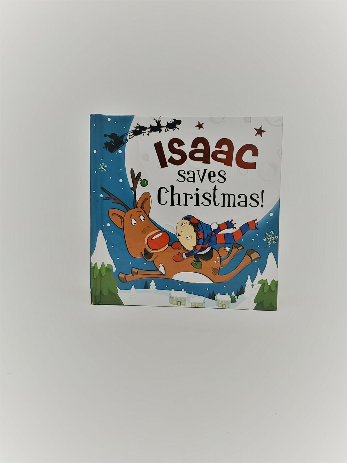 Personalized Isaac Book