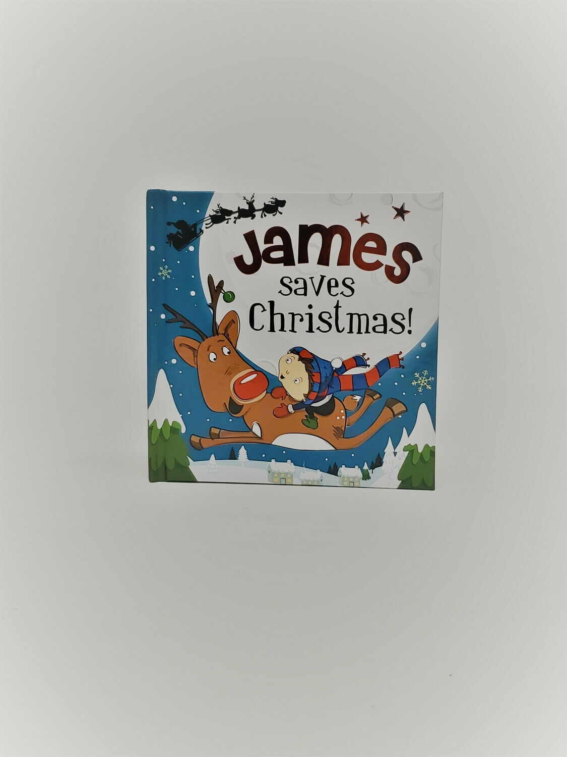 Personalized James Book