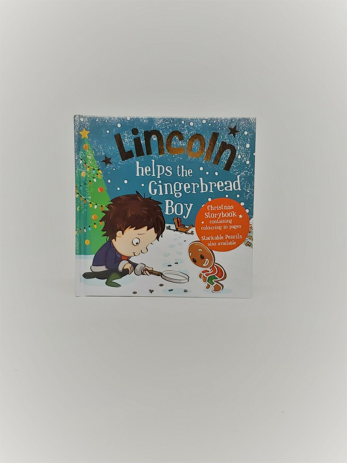 Personalized Lincoln Book
