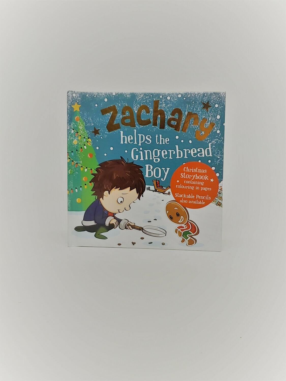 Personalized Zachary Book