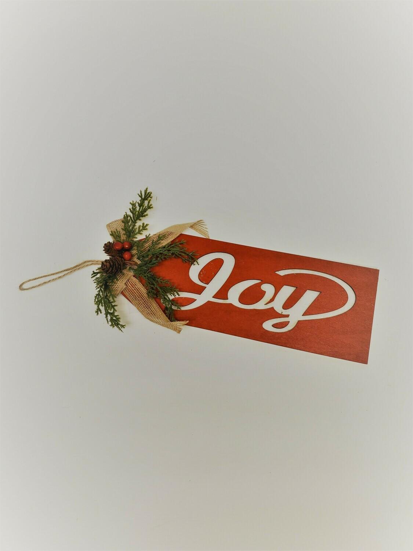 """""""Joy"""" Door Hanger"""