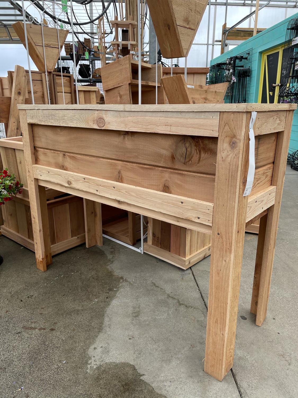 Raised Cedar Planters