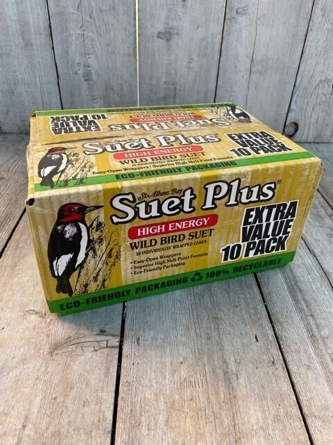 Suet Plus - Wild Bird Suet - Case lot sale