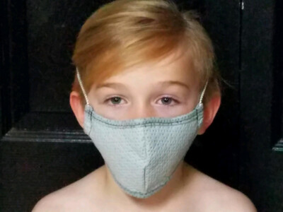 Child Size Reusable/Washable Mask (Optional Filter Available)