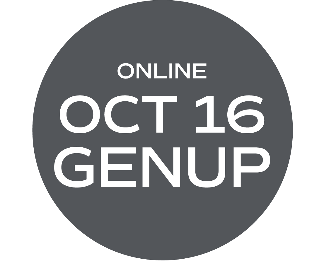 ** ONLINE ** GENUP and/or Elective - October 16 - Friday