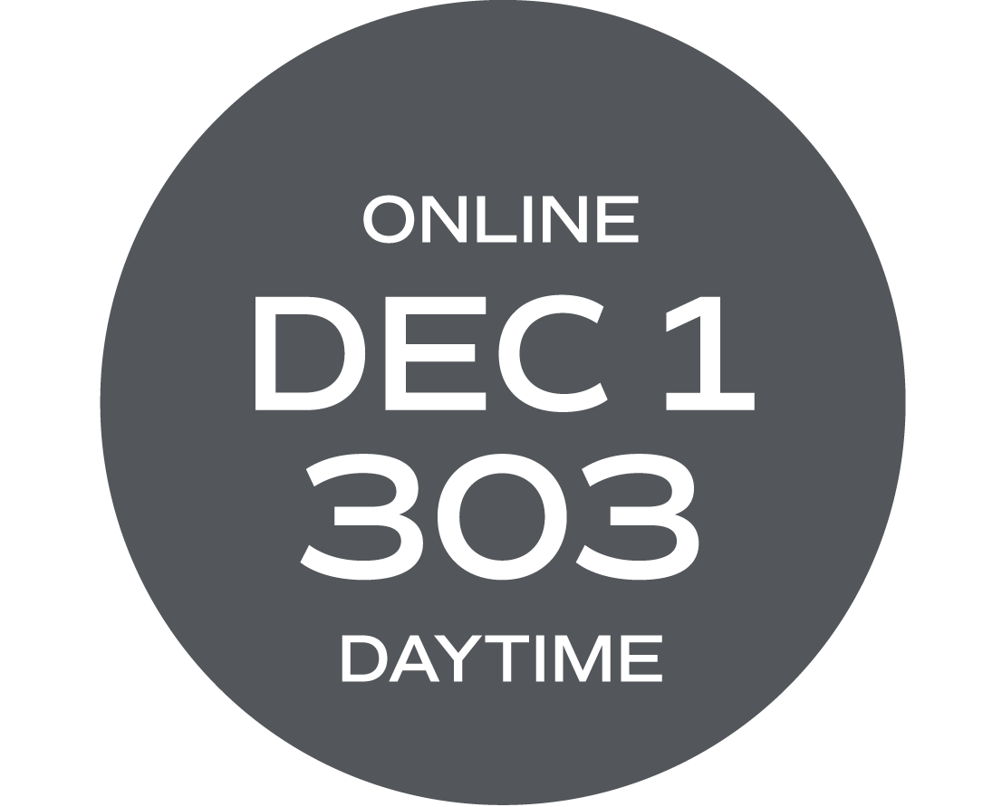 **ONLINE** NC Law, Rules, and Legal Concepts #303 | December 1 – December 10  | Tues/Thurs  |  9:00 a.m. – 5:30 p.m.  |  Instructor: Wise