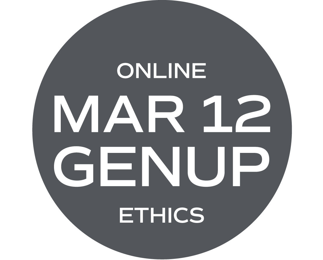 ** ONLINE ** Ethics Elective (What Would Your Mama Say?) and/or GENUP - March 12 - Friday