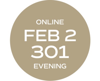 **ONLINE** Relationships & Responsibilities #301 | February 2 – February 25 | Tues/Thurs | 6:00 p.m. – 10:00 p.m.  |  Instructor: Michelle Melvin