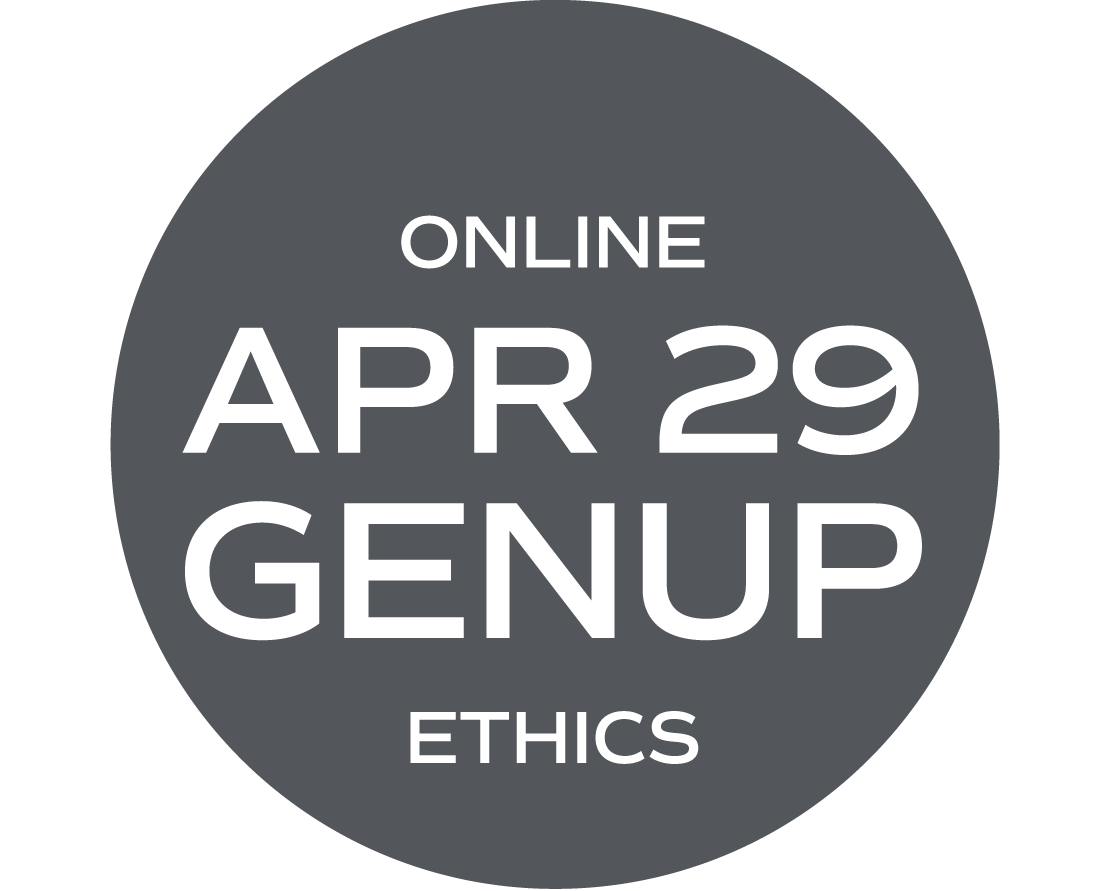 ** ONLINE ** GENUP and/or Ethics Elective (What Would Your Mama Say?) - April 29 - Thursday