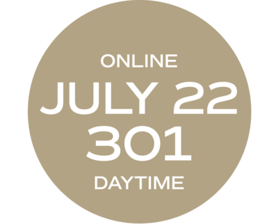 **ONLINE** Relationships & Responsibilities #301 | July 22 - July 30 | Thurs/Fri | 9:00 a.m. – 5:30 p.m.  |  Instructor: Annette Wise