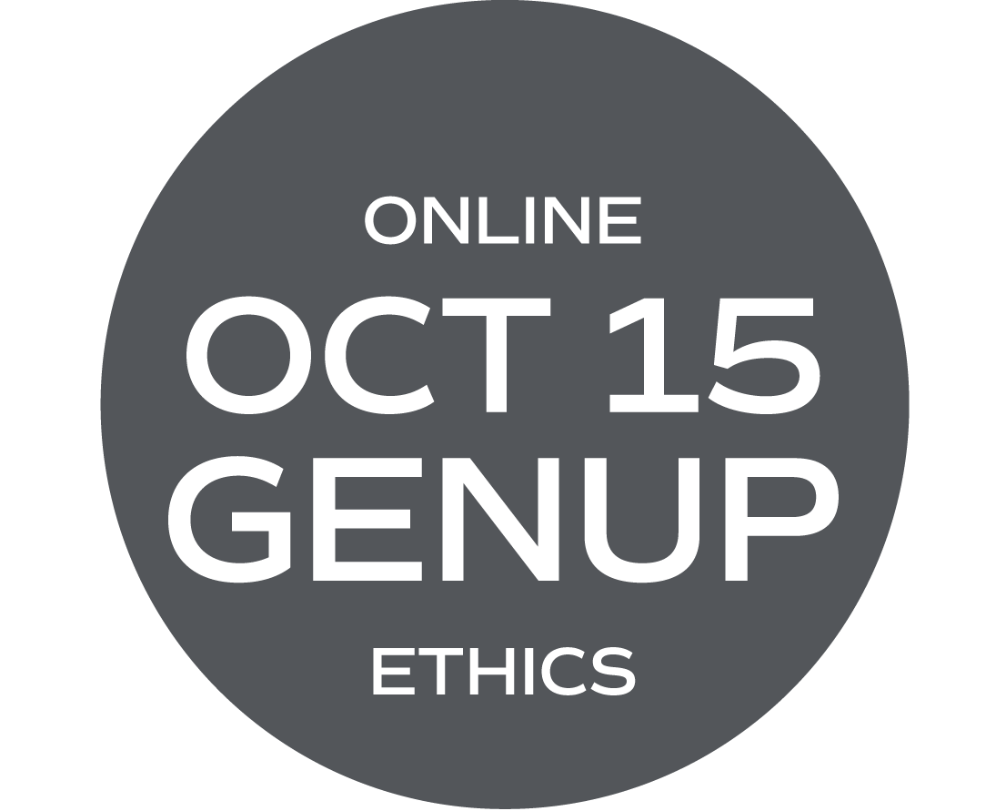 ** ONLINE ** GENUP and/or Ethics Elective (What Would Your Mama Say?) - October 15 - Friday