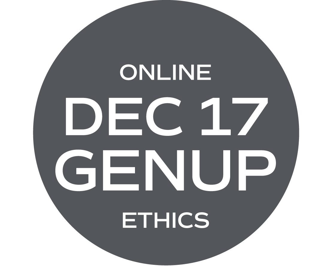 ** ONLINE ** GENUP and/or Ethics Elective (What Would Your Mama Say?) - December 17 - Friday