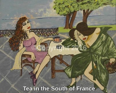 Tea in the South of France