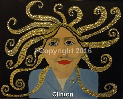 Clinton CBS Sun