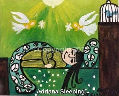 Adriana Sleeping
