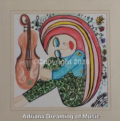 Adriana Dreaming of Music